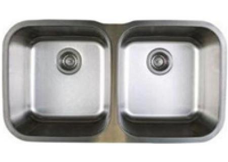 Blanco Stellar Series Equal Double Bowl Undermount Stainless Steel Sink - 441020