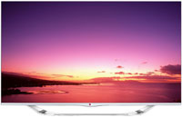 "LG 55"" Black LED 1080P 240Hz Cinema 3D Smart HDTV - 55LA7400"