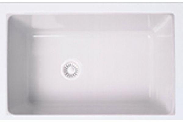 Rohl Allia Undermount Fireclay White Sink - 6307