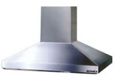 Broan 63000 Series High Performance Chimney Island Hood - Stainless Steel Finish - 637004