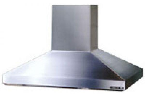 Broan 63000 Series High Performance Chimney Island Hood - Stainless Steel Finish - 637004