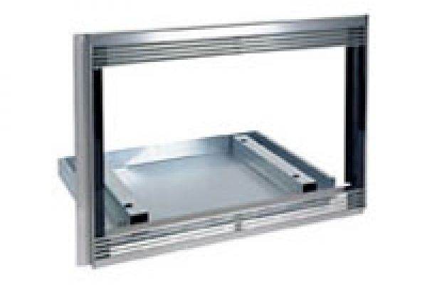 """Large image of Wolf 30"""" L Series Stainless Steel Microwave Oven Trim Kit - 808744"""