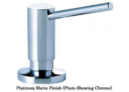DornBracht Tara Series Lotion Dispenser - Platinum Matte Finish - 82 435 970 06