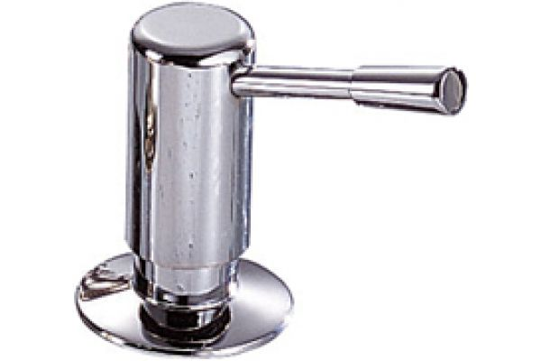 Large image of Franke Chrome Soap And Lotion Dispenser - 902-C
