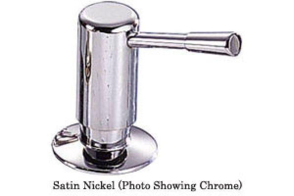 Large image of Franke Satin Nickel Soap/Lotion Dispenser - 902-SN