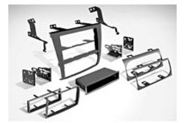 Large image of Metra Car Stereo Installation Kit - 99-7423