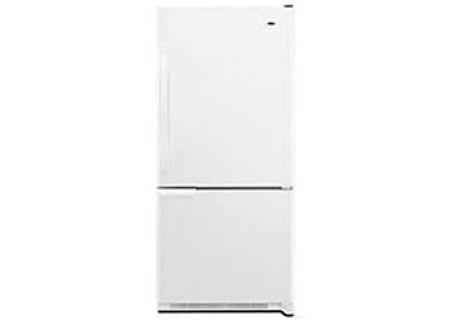 Amana White Bottom-Freezer Refrigerator