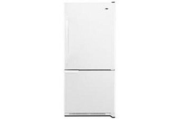 Amana White Bottom-Freezer Refrigerator - ABB1921BRW
