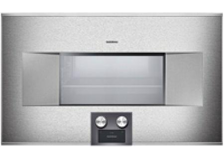 "Gaggenau 30"" Stainless Steel 400 Series Combi-Steam Oven - BS484611"