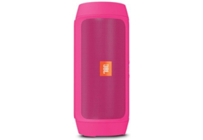 JBL Charge 2 Plus Pink Portable Speaker - CHARGE2PLUSPINKAM