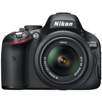 Nikon D5100 16.2 Megapixel Digital SLR Camera With 18mm-55mm Lens - 25478