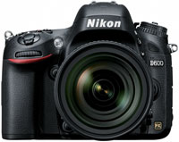 Nikon D600 Black 24.3 Megapixels Digital SLR Camera With 24-85mm VR Lens Kit - 13187
