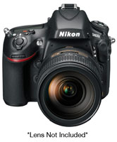 Nikon D800E Black 36.3 Megapixels Digital SLR Body - 25498
