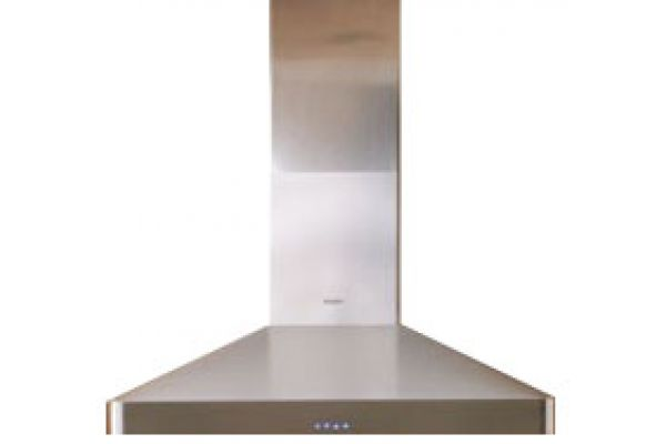 """Large image of Dacor Discovery 36"""" Stainless Steel Chimney Range Wall Hood - DHW361SS"""