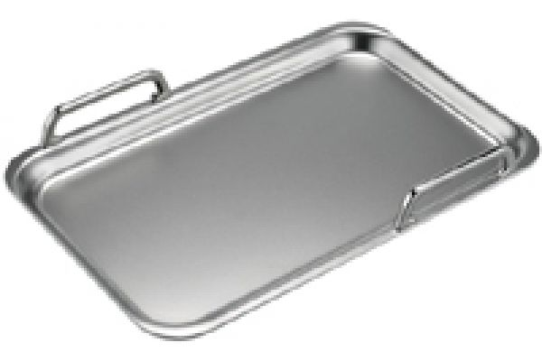 Large image of Bosch Large Stainless Steel Teppan Yaki For Flexinduction - HEZ390512
