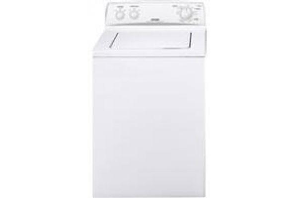 Large image of GE Hotpoint White Top Loading Washer - HTWP1000MWW