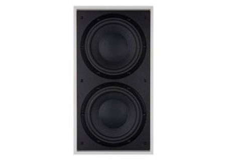 """Bowers & Wilkins Dual 8"""" Black In-Wall Subwoofer - ISW4"""