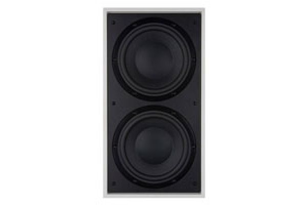 """Large image of Bowers & Wilkins Dual 8"""" Black In-Wall Subwoofer - ISW4"""