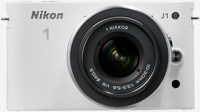 Nikon 1 White  J1 12 Megapixel Digital Camera - 27528