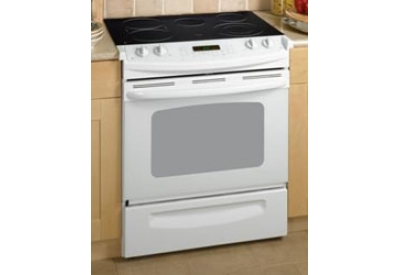 GE - JSP46WH - Slide-In Electric Ranges