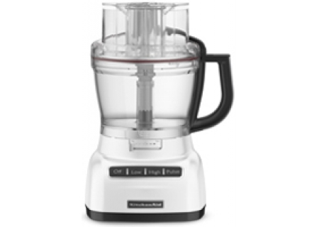KitchenAid 13-Cup/3.1L White Food Processor - KFP1333WH
