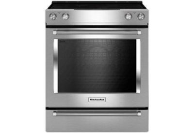 KitchenAid - KSEG700ESS - Slide-In Electric Ranges