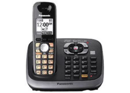 Panasonic - KX-TG6541B - Cordless Phones