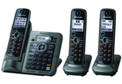Panasonic - KX-TG7643M - Cordless Phones