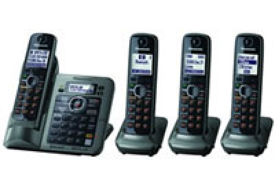 Panasonic - KX-TG7644M - Cordless Phones