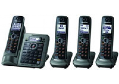 Panasonic - KX-TG7644M - Cordless Phones