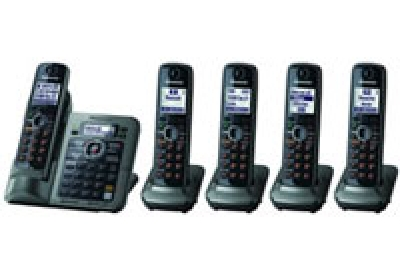 Panasonic - KX-TG7645M - Cordless Phones