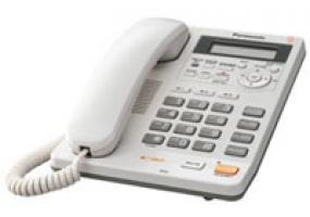 Panasonic - KX-TS620W - Corded Phones