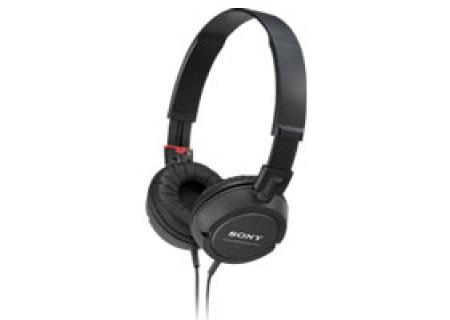 Sony - MDR-ZX100/BLK - Headphones