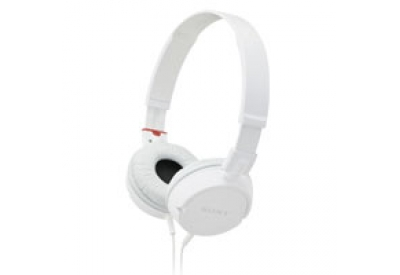 Sony - MDR-ZX100/WHI - Headphones