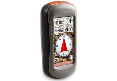 Garmin - OREGON450 - Hiking GPS