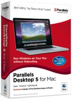 Parallels Desktop 5 for Mac OEM Version (Installation Included) - PDFM4X5LOEM1CDEN