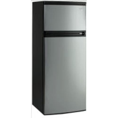 Apartment Fridge: Avanti Apartment Size Platinum Refrigerator