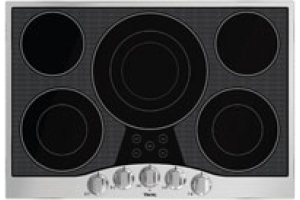 "Large image of Viking 30"" Electric Glass Cooktops - RVEC3305BSB"