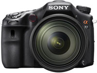 Sony A77 Black Digital SLR Camera With 16-50mm F2.8 Lens - SLT-A77VQ