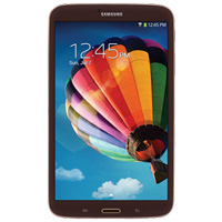 "Samsung Gold Brown Galaxy Tab 3 8.0 "" 16GB Tablet With WiFi - SM-T3100GNYXAR"