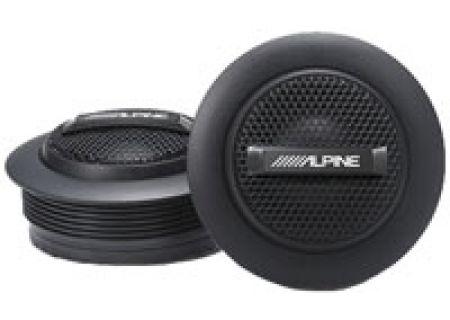 """Alpine Type-S 1"""" Silk Dome Tweeters - SPS-110TW"""