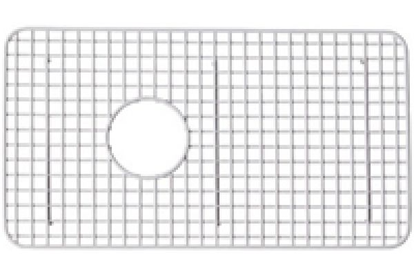 Large image of Rohl RC3018 White Kitchen Sink Grid - WSG3018WH
