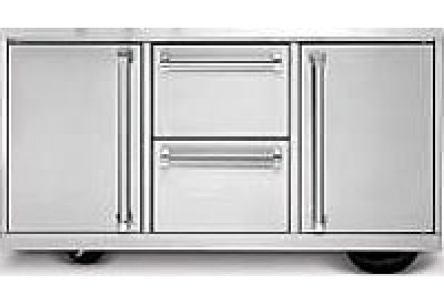 Viking Outdoor - BQC530T1-SS - Grill Carts & Drawers