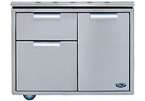 DCS - CAD36 - Grill Carts And Drawers