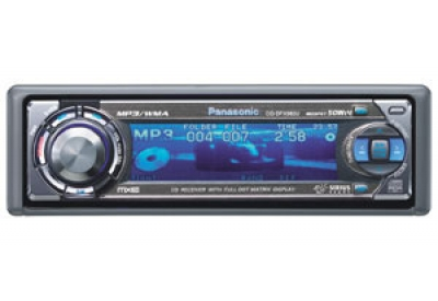 Panasonic -  - Car Stereos - Single Din