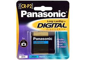 Panasonic - CR-P2PA/1B - Digital Camera Batteries and Chargers