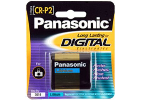 Panasonic - CR-P2PA/1B - Digital Camera Batteries & Chargers
