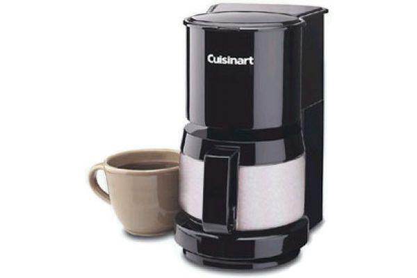 Cuisinart 4-Cup Black Coffeemaker - DCC-450BK