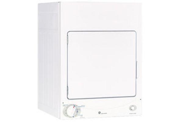 Large image of GE 120V Stationary Electric Dryer - DSKS333ECWW