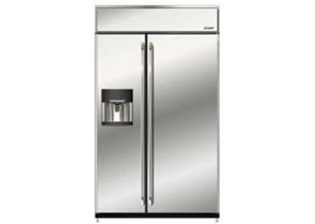 Dacor 42 epicure built in side by side refrigerator for Dacor 42 refrigerator